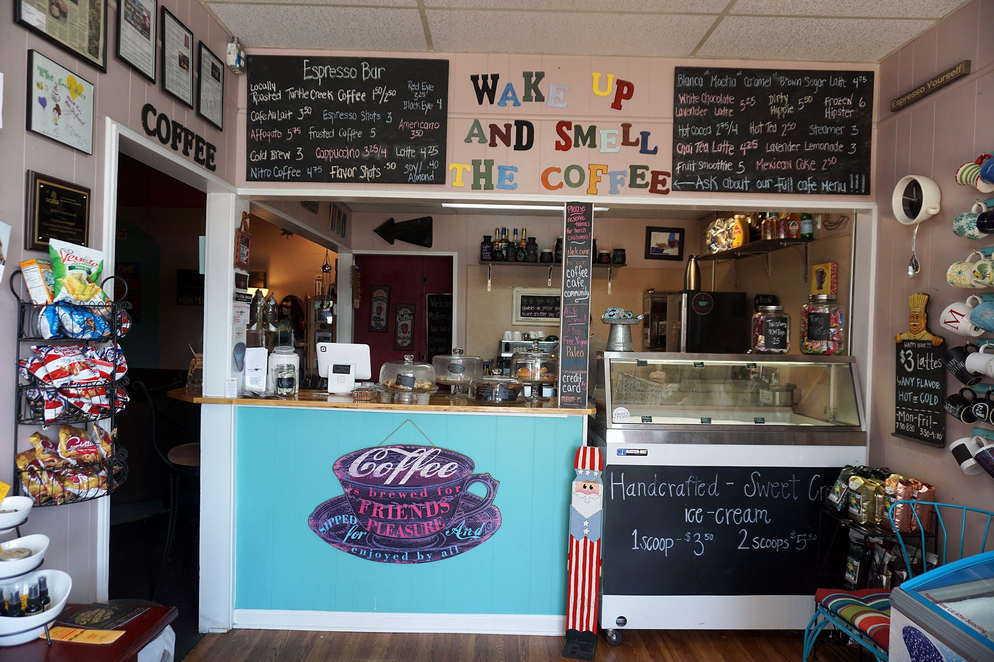 The Local Buzz in Columbia serves a variety of coffee, dessert, and sandwiches. Customers could get a free cup of coffee with purchase of an espresso brownie in honor of National Coffee Day.