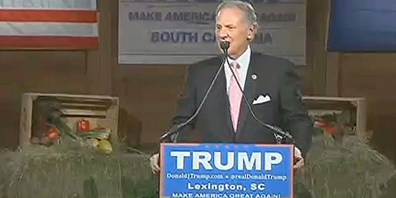 S.C. Gov. Henry McMaster recently gained Trump as an ally after supporting him during his Presidential campaign.
