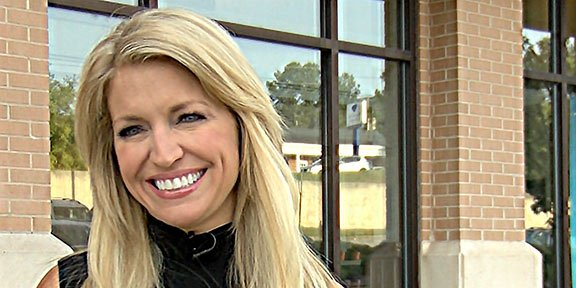 "Ainsley Earhardt, Fox & Friends co-host and University of South Carolina graduate, returns to Columbia to promote her new book, ""Through Your Eyes,"" at a book signing at Barnes & Noble."