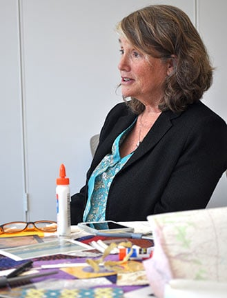 Caroline Lovell started the Traveling Postcards workshops in 2009 to focus on art as a healing mechanism for survivors of sexual trauma and other forms of oppression.