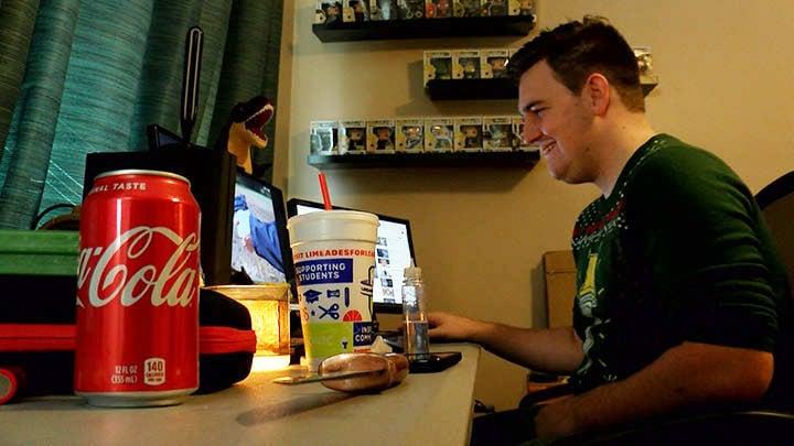 Alex Arroyo, from Gaston, S.C. is an avid user of vapers