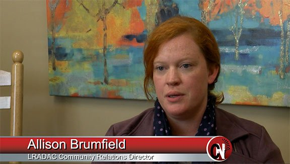 Allison Brumfield works for LRADAC, a rehabilitation center in the Midlands.