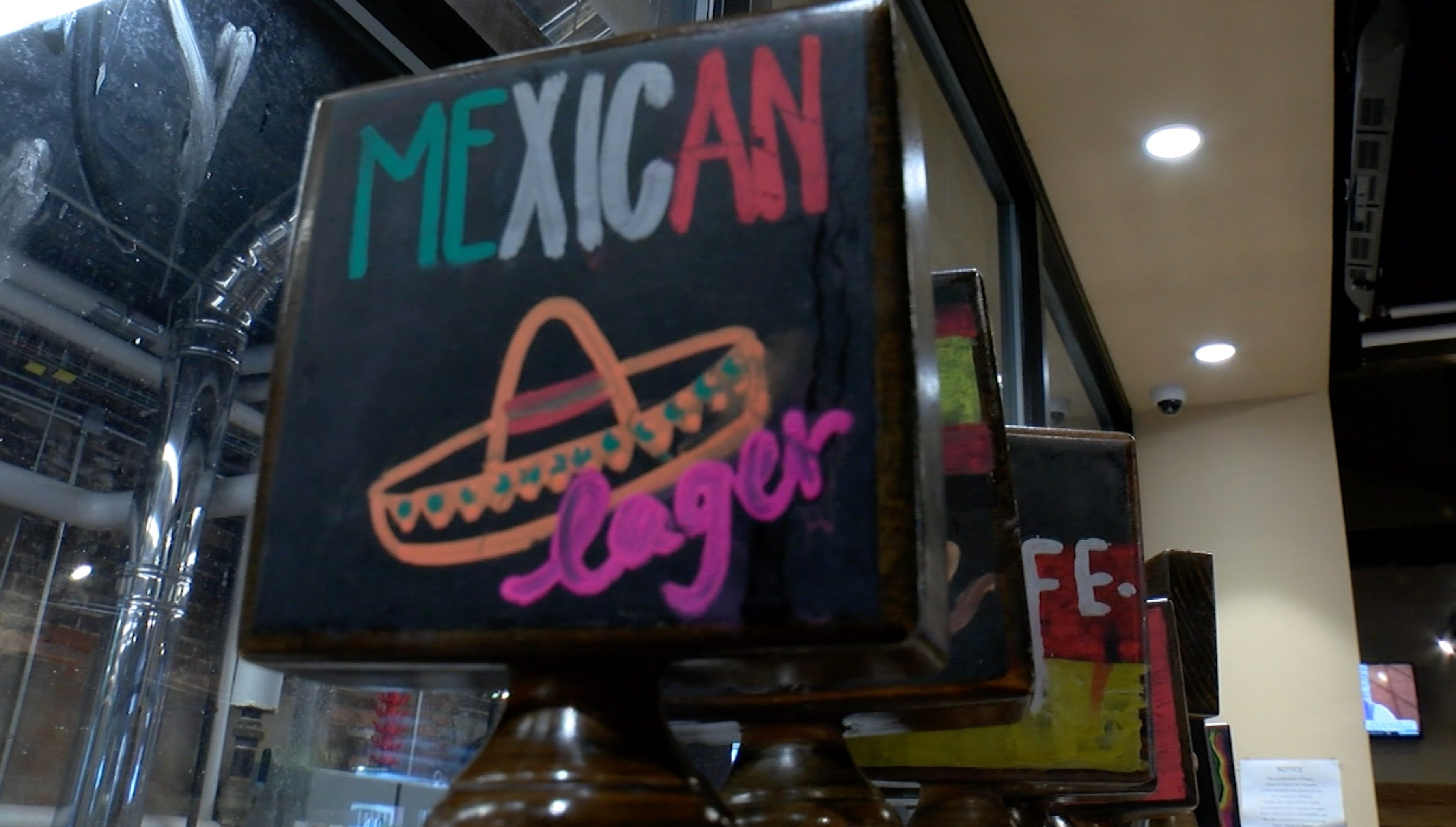 Mexican lager is a popular choice at Twisted Spur Brewery.
