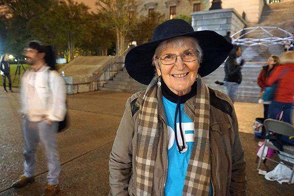 Nina Grey has been involved with OFA in other states and says the organization cares very much about immigration justice. She said she's honored to participate in the National Day of Action and be a part of something bigger to make a difference.