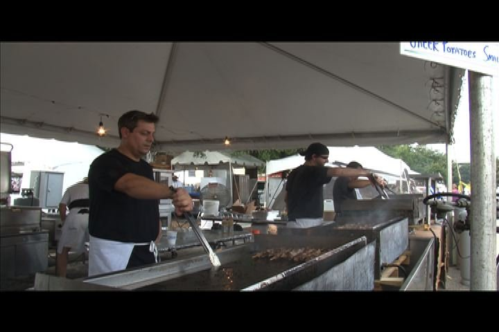 If you attend the Greek Festival this weekend, bring cash to sample the authentic Greek food.