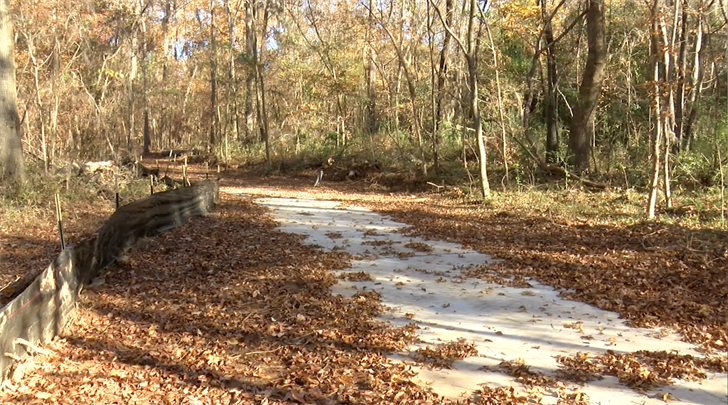 A third of the Saluda Riverwalk has already been completed.