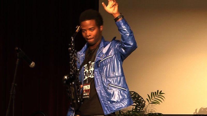 "Jonathan Jones won the 2011 ""USC's Got Talent"" competition earlier this week."