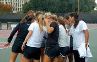 USC's women's tennis team finds strength in its diversity.
