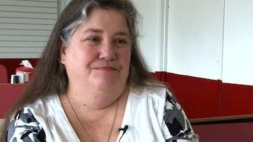 Cindy Clough recalls when she was a Senior at Carolina.
