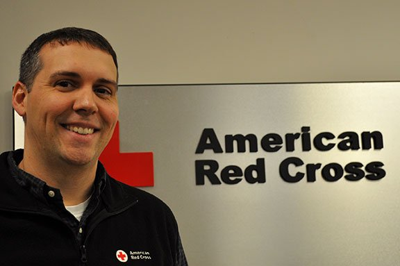 Stephen Hudson is the regional communications officer for the Palmetto SC Region of the American Red Cross. He said the Red Cross is in need of donations of all blood types.  Photo by Sarah Ellis