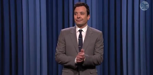 "Jimmy Fallon began his reign as host of NBC's ""The Tonight Show"" on Monday, with a star-studded and laugh-filled lineup in his first week. Photo courtesy of The Tonight Show Starring Jimmy Fallon on YouTube."