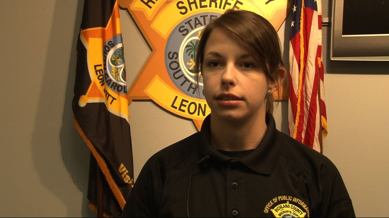 Katelyn Jasak, Public Relations Officer at Richland County Sheriffs Department, encourages gun owners to keep their guns locked up.
