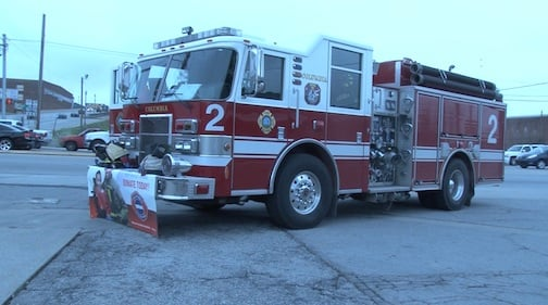 The Columbia Fire Department is raising money at sixteen different locations including the intersection of Huger and Blossom.