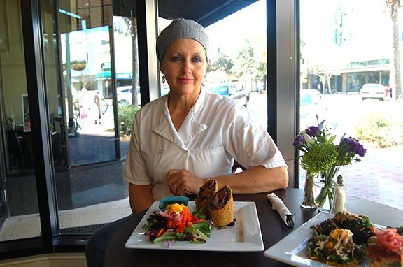 Sharon Wright started the Good Life Cafe to offer diners a modern and healthy option when dining out. Photo by Harrison Cahill