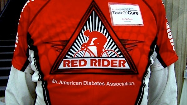 The Red Riders will ride 100 miles on May 3 to raise money for finding a cure for diabetes.