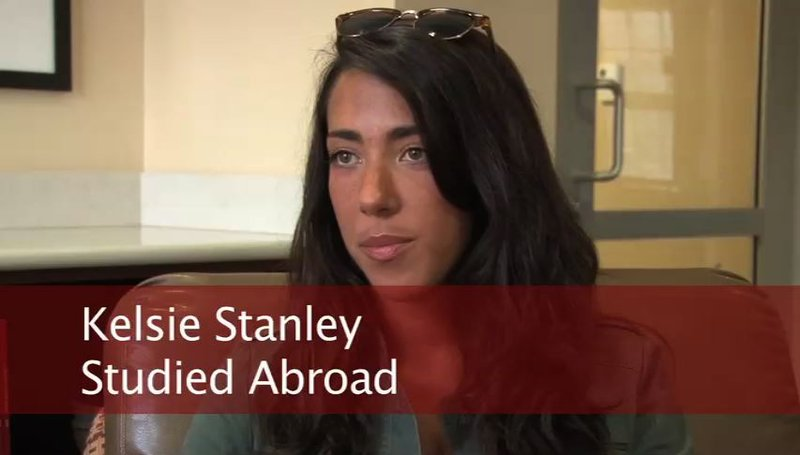 Kelsie Stanley studied abroad three times during her four years at USC.
