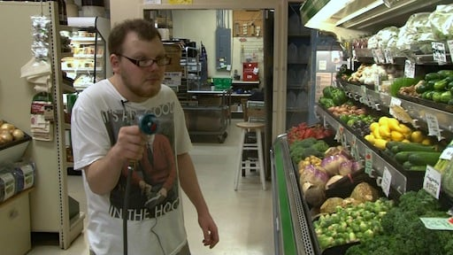 Gabriel McHugh is one of many young adults living with autism. Though he struggled with communication and behavioral problems in the past, he now works a part-time job at Rosewood Market.