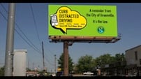 Billboards were donated and placed all over Greenville in efforts to inform the city of the new law.