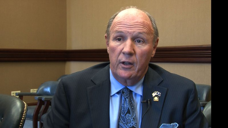 Senator Thomas Alexander says he wrote senate bill 416 to prevent car accidents and deaths caused by texting and driving