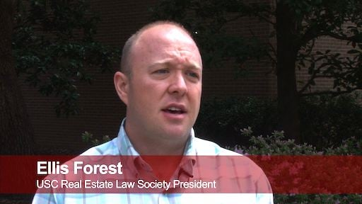 Ellis Forest is the president of The USC Real Estate Law Society and he recommends taking payments for rent in cash, not a check.