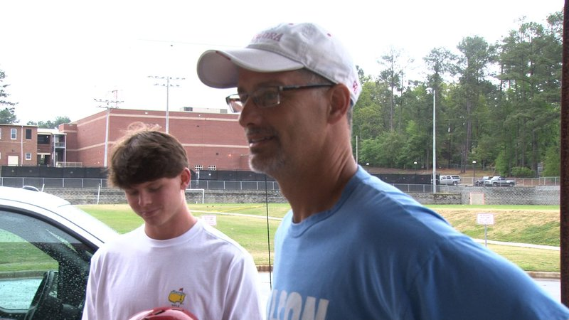 A.C. Flora head coach Andy Hallett says weather is always unpredictable.