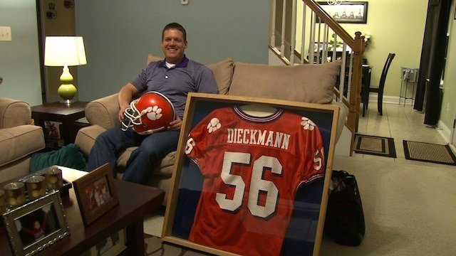 Philip is a former Clemson linebacker who played for the tigers until he graduated in 2005.