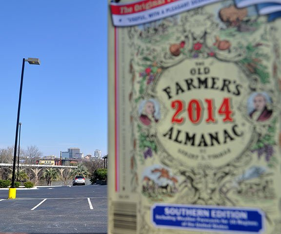 Editors of both the Farmers' Almanac and Old Farmer's Almanac say that the urban audience is catching up to the agricultural audience. Photo by Kyle Heck.