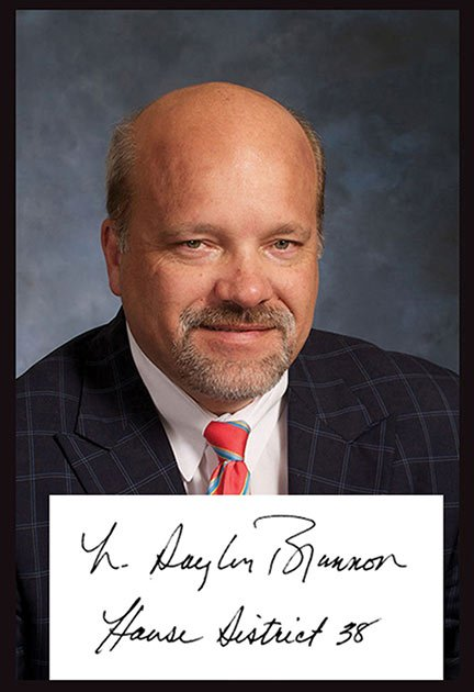 """One of the 19 sponsors of the Back to Basics in Education Act of 2013 is Rep. Norman Brannon, who signs his name """"N. Douglas Brannon."""" He said writing in cursive can still be a relevant skill. Photo from Rep. Brannon's office."""