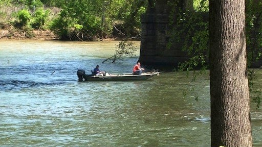 The river, despite elevated bacteria levels in places, is still a great place to spend a day fishing or tubing