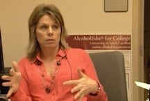Rhonda Dinovo, Director of USC's Substance Abuse Prevention and Education Program spoke with me about alcohol awareness.