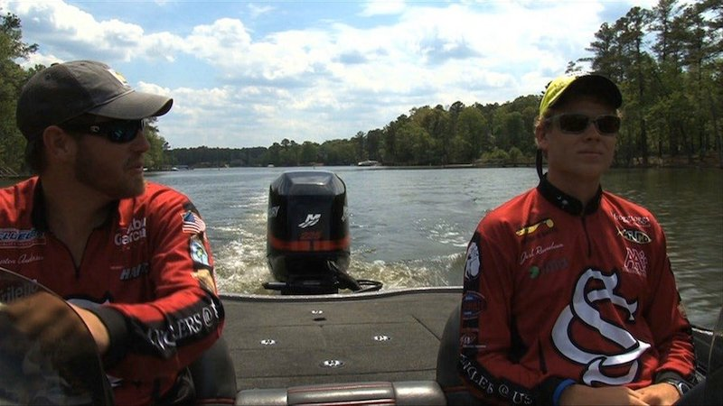 Anderson and Rennebaum do most of their fishing onCOlumbia's Lake Murray