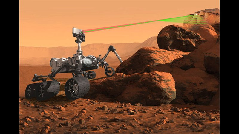 NASA's new rover that will include the SuperCam.