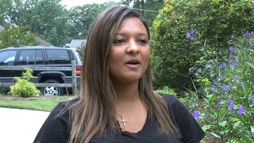 Resident of Copper Beech Breanna Neely was shocked when shots were fired