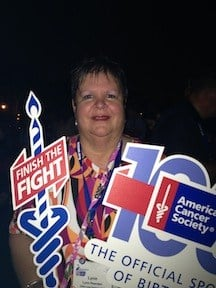 Lynn Rearden is a two-time cancer survivor.