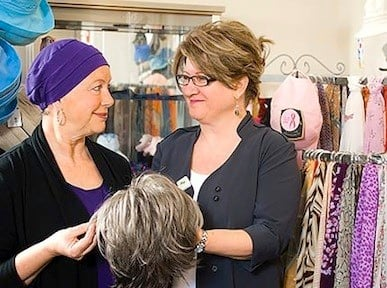 Becky's Place Boutique in Lexington Medical Center specializes in helping women who are undergoing or have completed treatment