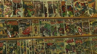 Supah Pop gave people the chance to check out vintage comics they wouldn't see anywhere else.