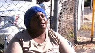 Eartha McEleven is homeless and thinks this is a great idea.