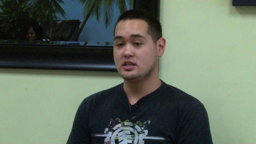 Devon Duong is not worried about the threat of Ebola spreading to his business beside the High School.