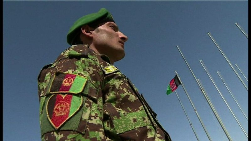 Control of Camp Leatherneck will be handed over to trained Afghan forces..