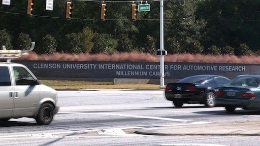 CU-ICAR campus in Greenville, SC is midway between Charlotte and Atlanta on the Interstate 85 corridor.
