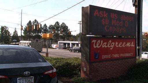 Walgreens on Forest Drive experienced a robbery last week.