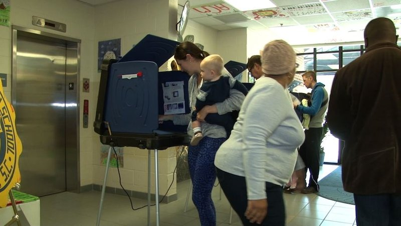 Voters in the Midlands say there were little problems at the polls.