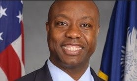 Tim Scott is the first African American from the South to be elected to Senate since Reconstruction.