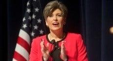 Joni Ernst is Iowa's first female US Senator.