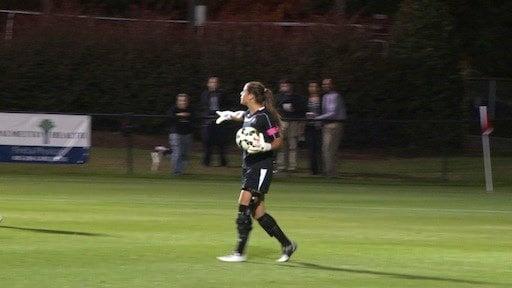 Senior Sabrina D'angolo hopes to play professionally after graduation.