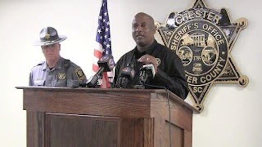 """""""We're gonna be out here... until we catch who did this,"""" says Sheriff Alex Underwood."""