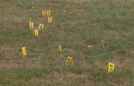 Over 15 shell casings were found at the scene.