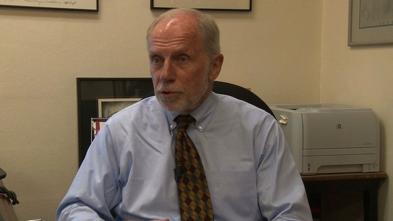 Dean Charles Bierbauer reported on several historic events throughout the Cold War.