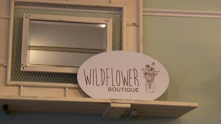 Wildflower Boutique on Saluda St. differs from other boutiques in Five Points by offering Boho-chic style clothing and accessories.