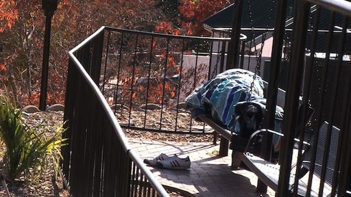 The park has developed a reputation for being dilapidated and widely populated by homeless people.